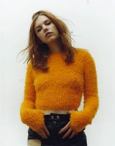 Lots of layers: fallenly:   Hannah Murray x Flaunt Magazine