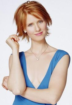 Cynthia Nixon  On Sex and the City, it was Samantha who had the breast cancer storyline (who can forget her pink Lil' Kim wig?). After the series wrapped, however, it was Miranda who was diagnosed in real life in 2006.