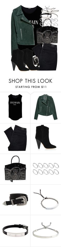 """""""Sin título #3518"""" by hellomissapple ❤ liked on Polyvore featuring Balmain, MANGO, Paige Denim, Isabel Marant, Yves Saint Laurent, ASOS, Michael Kors, Cartier, Monica Vinader and Jules Smith"""