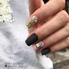 Find the perfect nail art design for your next manicure project! Get inspired with these beautiful, funny, cute and stylish nails ideas Nail Swag, Stylish Nails, Trendy Nails, Fire Nails, Minimalist Nails, Best Acrylic Nails, Luxury Nails, Dream Nails, Manicure E Pedicure