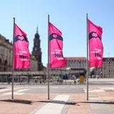 SACHSENFAHNEN.de | Fahnen & Stoffbanner online kaufen Banner, Fair Grounds, Outdoor Decor, Fun, Home Decor, Printing, Ideas, Banner Stands, Decoration Home