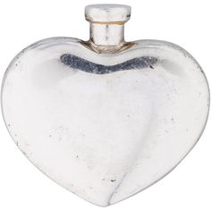 Tiffany & Co. Pre-owned Tiffany & Co. Heart-Shaped Perfume Bottle (€110) ❤ liked on Polyvore featuring home, bed & bath, bath, bath accessories, silver, sterling silver perfume bottle, tiffany & co., tiffany & co box, sterling silver box and sterling box