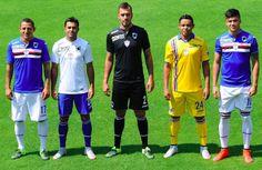 Sampdoria's 2015-16 Official Kit Launch