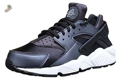 Nike Womens Air Huarache Run SE Running Trainers 859429 Sneakers Shoes (us 8, metallic hematite black dark grey 001) - Nike sneakers for women (*Amazon Partner-Link)