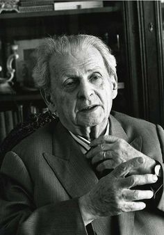 Emmanuel Levinas - a French philosopher of Lithuanian Jewish ancestry who is known for his work related to Jewish philosophy, existentialism, ethics, and ontol...