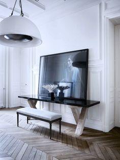 Gilles-et-Boissier-home-yatzer-6_zpsccbcdfe6.jpg photo by gerbear727 | Photobucket chevron wood floor