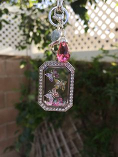 Heritage Locket and Butterflies. Order Here: www.lovelyinlockets.origamiowl.com