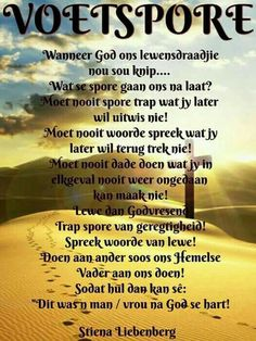 Voetspore Prayer Verses, Scripture Verses, Bible Verses Quotes, Scriptures, Christian Messages, Christian Quotes, Heaven Quotes, Afrikaanse Quotes, Spiritual Prayers