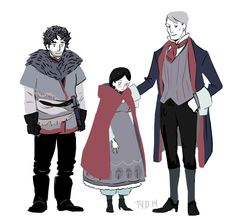 theyoungdoyley: fairytale!Hannibal - the Huntsman, Little Red, and The Devil I've lost control of my life
