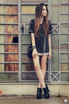 FashionCoolture 03.01.2012 Topshop Zara beaded síkes Kafé Asos black (6)