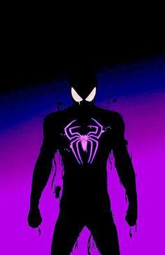 LiftedMiles Amazing Spiderman, Black Spiderman, Spiderman Spider, Marvel Comic Universe, Marvel Art, Marvel Heroes, Marvel Avengers, Spiderman Pictures, Superhero Poster