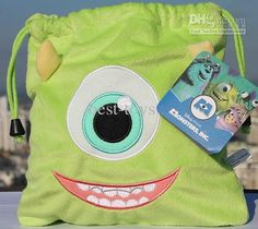 Wholesale New Toys For Christmas Monsters, Inc. Popeyes Sullivan Plush Drawstring / Cosmetic Bag Cartoon Monsters University, Free shipping, /Piece | DHgate