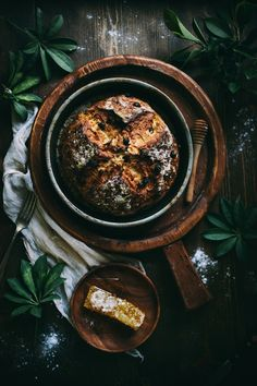 Irish Soda Bread with raisins and dates