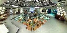 TARDIS 2015 Interior custom | Rob's 3D Doctor Who site!
