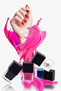 Fashion finger nail polish PNG and PSD Nail Salon Design, Nail Salon Decor, Beauty Logo, Beauty Bar, Manicure Diy, Makeup Illustration, Nail Logo, Nail Quotes, Nail Studio