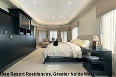 Rise Resort Residences Noida Extension presenting the residential villas of 3BHK and 4BHK configuration. These apartments having own amenities that can not be shared by others.