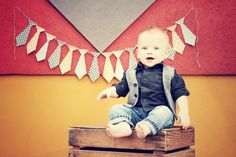 Blissfully Ever After: Little Man Mustache Bash {1st Birthday Party}