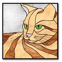 Check out the deal on Free Pattern, Regal Feline at Glass Crafters Stained Glass Stained Glass Patterns Free, Stained Glass Designs, Stained Glass Projects, Stained Glass Art, Cat Quilt Patterns, Mosaic Patterns, Cat Template, Templates, Cat Pattern