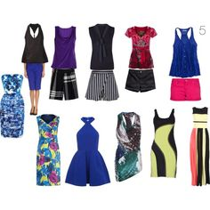 A fashion look from March 2014 featuring halter top, short dresses and holiday dresses. Browse and shop related looks.