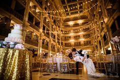 swoon-worthy wedding venue at George Peabody Library