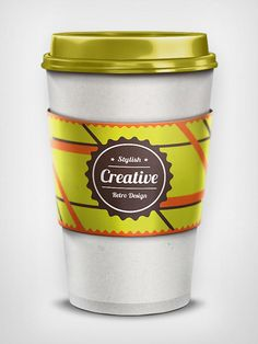 Coffee Cup Mockup by Graphic Soulz #design #fooddesign