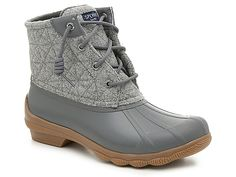 Women Syren Gulf Duck Boot -Grey size or 8 Sperry Boots, Ugg Boots, Rain Boots, Shoe Boots, Ankle Boots, Pretty Shoes, Cute Shoes, Me Too Shoes, Sneakers
