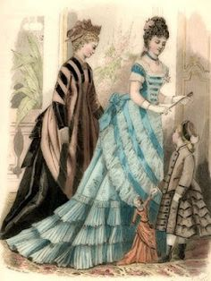 Victorian Fashion Ladies