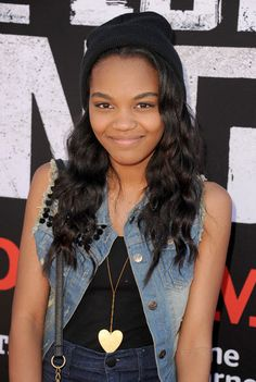 """China Anne McClain Super Cute At Disney's """"The Lone Ranger"""" Premiere June Disney Channel Stars, Disney Stars, China Mclain, China Anne Mcclain, Pretty Black Girls, African American Girl, The Lone Ranger, Teen Hairstyles, Celebs"""