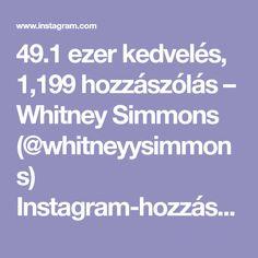 "49.1 ezer kedvelés, 1,199 hozzászólás – Whitney Simmons (@whitneyysimmons) Instagram-hozzászólása: ""Abarooooskies are very painful but we just need to push through it together ok? A strong core is…"""