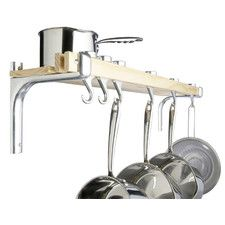 Shelf Style Wooden Pot Rack / Kitchencraft / £42.99