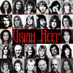 Uriah Heep through the years!