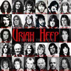 Uriah Heep through the years!