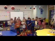 Gingerbread Man Rap - Kindergarten Style