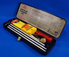 Vintage Outers 12 Guage Shotgun Cleaning Kit # P-478 To see the Price and Detailed Description you can find this item in our Category Vintage Sporting Goods, Hunting on eBay: http://stores.ebay.com/tincanalley1/Vintage-Sporting-Goods-Hunting-/_i.html?_fsub=19469222018  RD14438