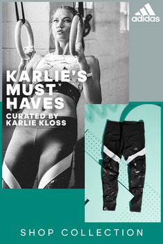 Explore the new Must Have Collection from adidas, curated by Karlie Kloss—each piece designed to help you conquer your training goals. Click to explore the collection today.