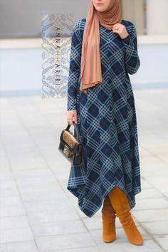New Dress Pattern Tunic Boots Ideas Muslim Women Fashion, Islamic Fashion, Modest Fashion, Hijab Fashion, Fashion Outfits, Fashion Boots, Muslim Dress, Hijab Dress, Hijab Outfit