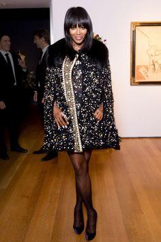 Naomi Campbell - Dolce & Gabbana Alta Moda and Christie's Celebrate Impressionist and Modern Art – Vogue