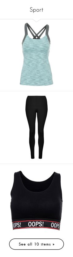 """Sport"" by victoriahoegh ❤ liked on Polyvore featuring activewear, activewear tops, lucy sportswear, lucy activewear, activewear pants, black, sport & fitness, yoga activewear, lorna jane sportswear and lorna jane"