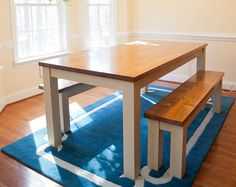 Ft Solid Wood Farmhouse Conference Table Farmhouse Dining Table - Farmhouse conference table