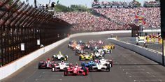 The Indianapolis Speedway is home to the Indianapolis 500 and other racing events throughout the year.