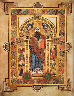 The Book of Kells - #31daysofmedievalmanuscripts #write31days