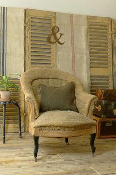 アンティーク アームソファー French antique sofa