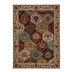 Wentworth Ivory Panel Rug (7'10 x 9'10) | Overstock™ Shopping - Great Deals on 7x9 - 10x14 Rugs