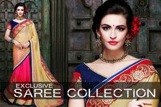 When it comes to dressing in elegance & grace, Shop for the latest sarees. >> http://hytrend.com/women/ethnic-wear/sarees.html