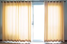 She just bought a house on short sale and wants to know inexpensive ways of cleaning drapes that look like they haven't been cleaned in years. Our readers share their ideas. Diy Cleaning Products, Cleaning Hacks, Types Of Window Treatments, Problem And Solution, Good Housekeeping, Window Cleaner, Saving Ideas, Home Hacks, Being A Landlord