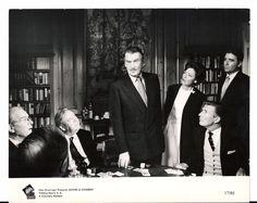 "1962 PR Movie Still Otto Preminger ""Advise & Consent"" Columbia Pictures #179H"
