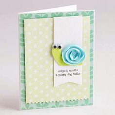 Cute baby boy card