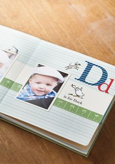 Board book with My Digital Studio. Great idea for baby gifts.