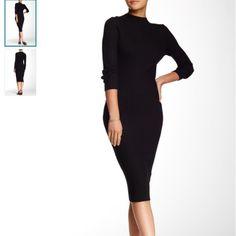 Nwot Mono B mock neck dress no trades please No flaws length 42 bust 18 has stretch Dresses Midi
