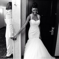 """cmchicways: """" Say a prayer before you see her . . #blacklove #pricelessphoto """" Follow here for more beautiful black love!"""